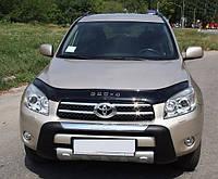 Дефлектор капота (мухобойка) Toyota RAV4 2006-2010