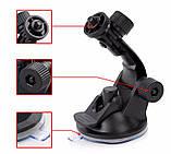 Автомобільне кріплення присоска АКР-01 для екшн камер SJCAM, GoPro, Xiaomi, Eken, Sony, фото 5