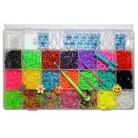 Набор для плетения Rainbow Loom Bands 4200 резиночек Код:304412180