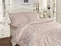Комплект постельного белья First Choice Satin Cotton полуторный Sweta pudra