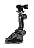 Автомобільне кріплення присоска АКР-01 для екшн камер SJCAM, GoPro, Xiaomi, Eken, Sony, фото 2