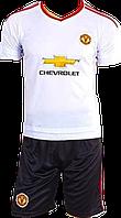 Форма футбольная детская Манчестер Юнайтед (S-M-L-XL) NEW!
