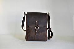 Универсальная кожаная сумка через плечо