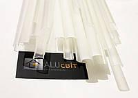 Рассеиватель прозрачный, белый для светодиодного LED профиля Z000 ЛП7 ЛП12 (линза)