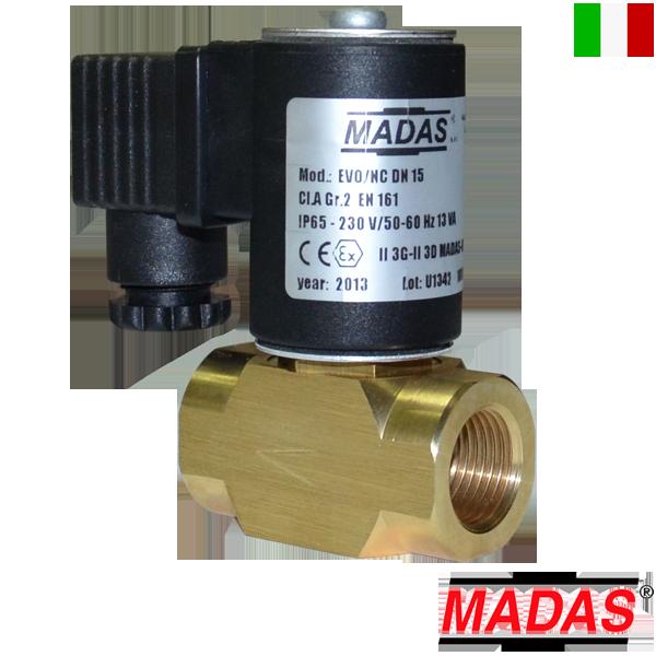 Электромагнитный клапан EVO/NC (MADAS)