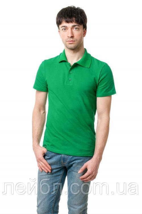 Футболка поло мужское , Эгоист-зеленая трава
