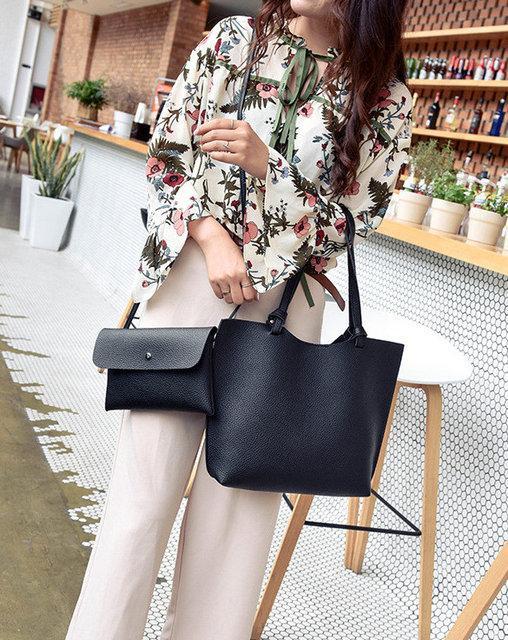 Женская сумка с клатчем AL-7532-10