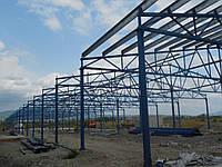 Ангар из металоконструкций, 18х60 м