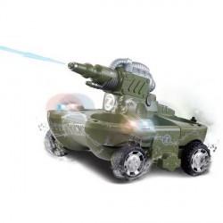 24883A танк амфибия стреляет водой