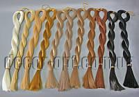 Волосы для кукол прямые под заколку 80см/50г