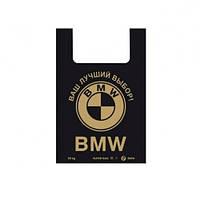 Пакет полиэтиленовый 39х58, 30мкм (50шт) (BMW) черные
