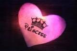 """Светящаяся подушка """"Принцесса"""""""