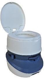 Биотуалет 21л DeLux, туалет портативный на кемпинг