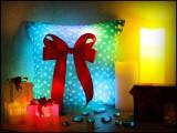 """Светящаяся подушка """"Новогодняя"""""""