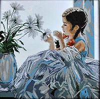 Набор для вышивания Маленькая принцесса 51*51