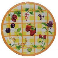 Бумажные одноразовые тарелки - 3