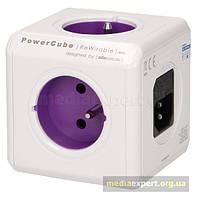Разделитель allocacoc 1830/frru4p powercube rewirable usb с 4 плагинами