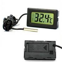 Датчик температуры с LCD дисплеем термо выносной сенсор