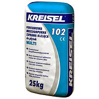 Смесь клеевая для плитки для внутренних и наружных работ Multi 102 25,0кг Kreisel 1/42