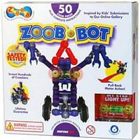 Конструктор Zoob-Bot с инерционным механизмом и световым эффектом, Zoob
