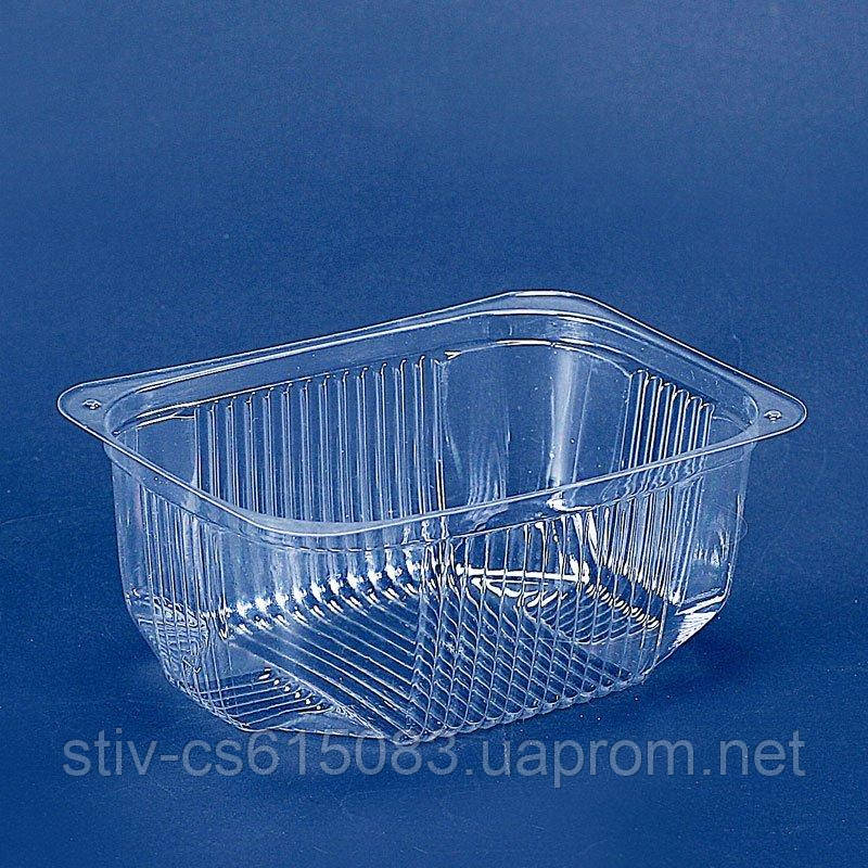 Пластиковая упаковка для салатов и полуфабрикатов пс-180 (250 мл)