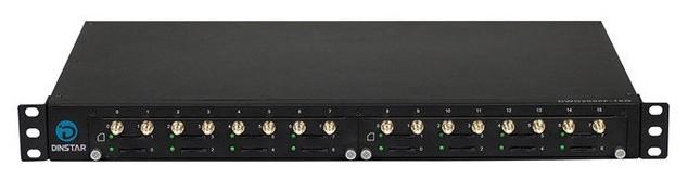 GSM шлюз Dinstar DWG2000F-16G