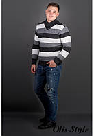 Молодежный мужской свитер в двух цветах