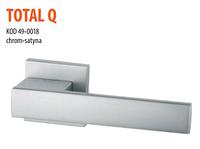 Дверная ручка VDS  Total Q  хром-сатин