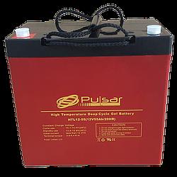 Гелевый аккумулятор Pulsar HTL12-55