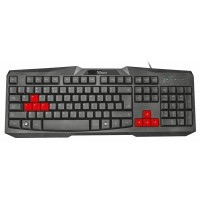 Клавіатура TRUST Ziva gaming keyboard модель 22114