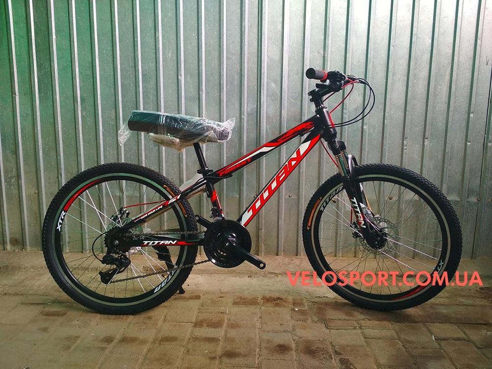 Подростковый велосипед Titan Forest 24 дюйма