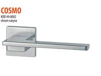 Дверная ручка VDS  Cosmo  хром-сатин