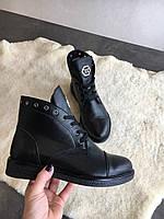 Ботиночки кожаные от производителя
