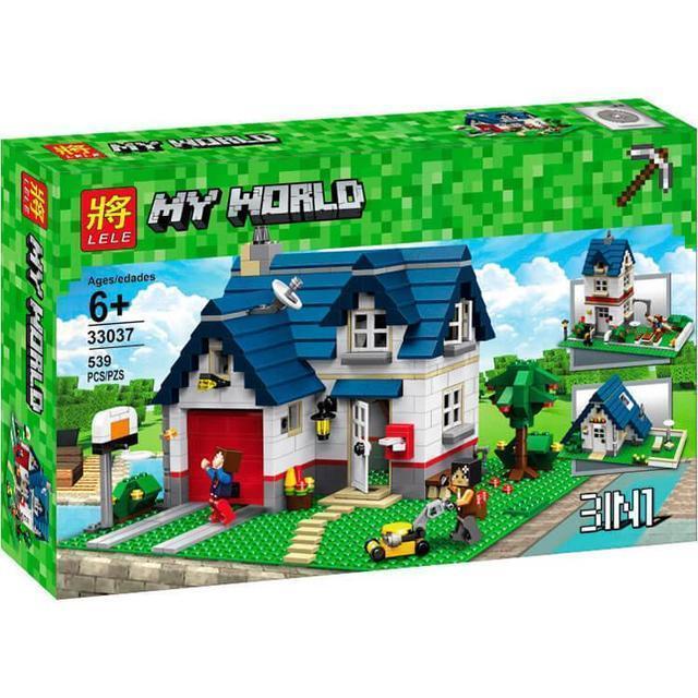 """Конструктор Minecraft Lele 33037 """"Загородный дом"""" (аналог Lego Creator 31069), 539 дет"""