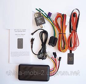 Автомобільний GPS трекер GT06, GSM GPRS з охоронною системою блокування двигуна без коробки