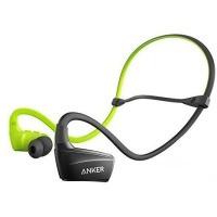 Навушники ANKER SoundBuds Sport NB10 Чорний/Зелений