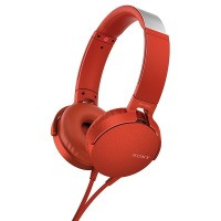 Навушники SONY MDR-XB550AP Червоний