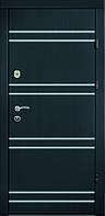 Входные двери Бастион-БЦ Лира Венге темный БМ11