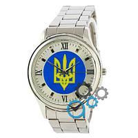 Часы Украина Gold/Brown