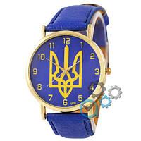 Часы Украина SSB-1053-0123 Gold-Blue реплика
