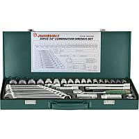 "Набор инструментов Jonnesway 3/8"" DR 6-22 мм, ключи 7-17 мм (36 предметов)"