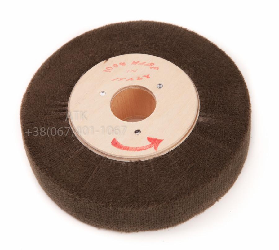 Круг для полировки торцов войлочный