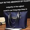 Женская сумка синяя тканевая большая с длинными ручками опт