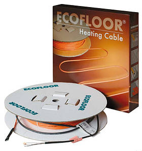 Теплый пол в стяжку под ламинат, кафель 2,9-3,4 м.кв. 450 Вт. Одножильный кабель Fenix. Гарантия 15 лет.