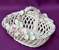 Конфетница-корзинка Гармония 19 см, фото 1