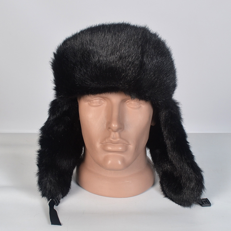 Чоловіча зимова шапка- вушанка із штучним хутром - Камала в Хмельницком 80a825150091a