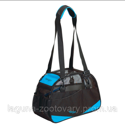 Сумка переноска 43х30х20см для собак и котов, S, до 4.5кг, голубой Bergan Voyager Comfort Carrier , фото 2