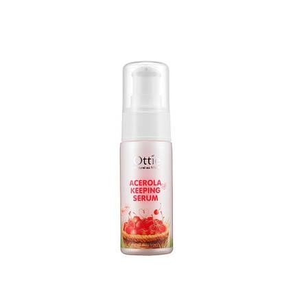 Сыворотка для увядающей и тусклой кожи Ottie  Acerola Keeping Serum, 40 мл, фото 2