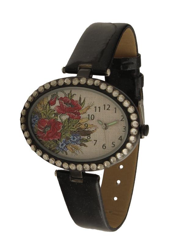 Часы женские дизайнерские букет цветов NewDay