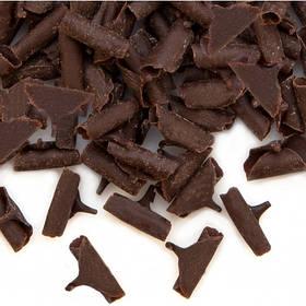 Шоколадна посипка пелюстки чорний та білий шоколад 2,5 кг Barbara Luijckx